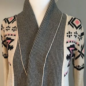 If It Were Me Anthropologie Open Front Cardigan